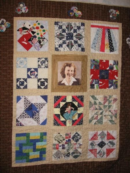 Memory Quilts From Clothing Memory Quilts For My Mother