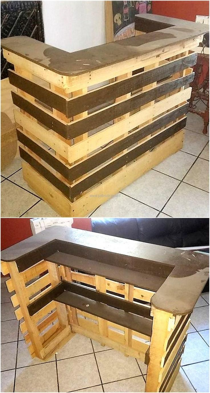 Best 25 Pallet Bar Plans Ideas On Pinterest Diy Bar