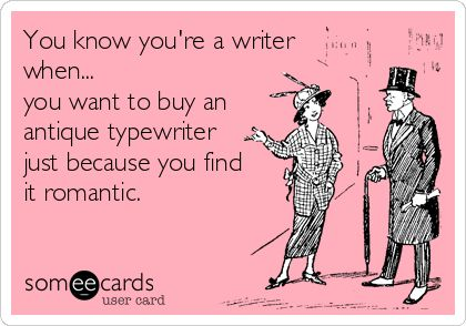 You know you're a writer when...~SheWolf★
