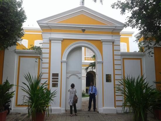 Photo of French Institute Ponducherry was a French colonial settlement until 1954 -Community of French people -Part of French India (late 16th century)