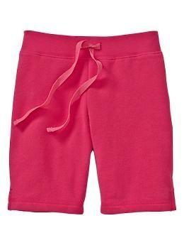Bermuda de moletom pink.