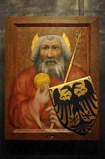 Master Theodoricus (Mistr Theodorik): St Charelmagne (Sv. Karel Veliký), Prague, 1360-1364 | by maystra