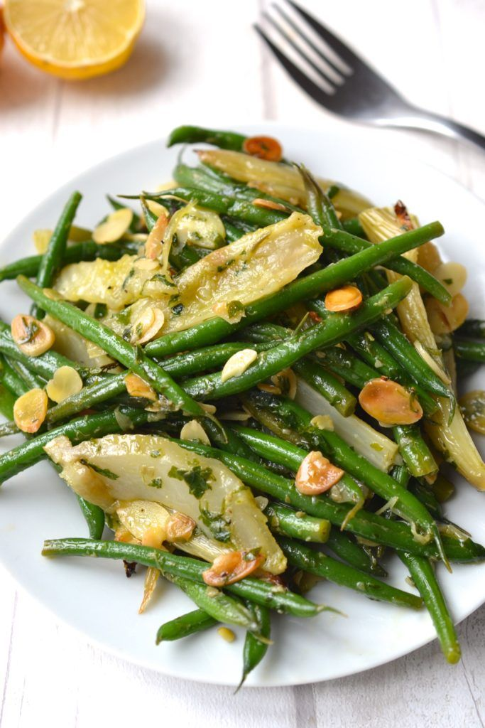 Green Bean And Roasted Fennel Salad Veggie Side Dishes