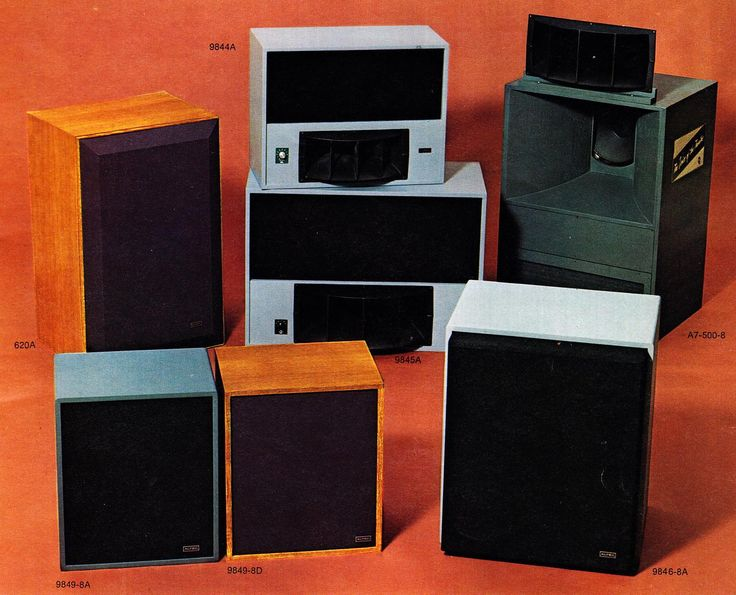 "Altec's theatre and studio speakers were the ""sound behind the sound."""