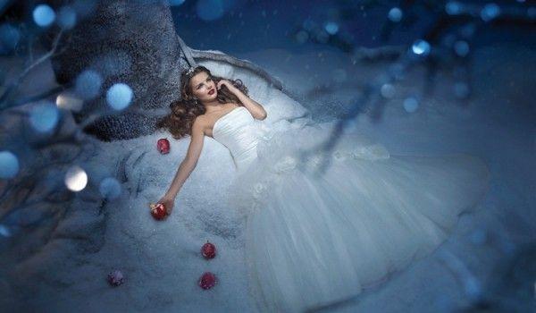 Trouwen met kerst: de mooiste winterse bruiden & bruidsmeisjes - Christmaholic.nl