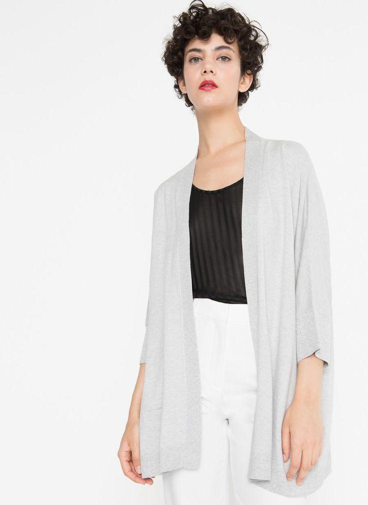 Shimmer cardigan - Outwear - Clothing - Uterqüe Ireland