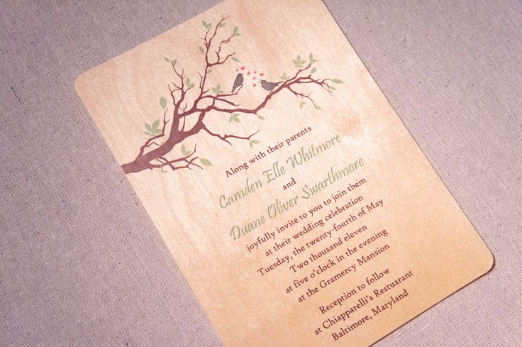 Real Wood Wedding Invitations: 25+ Best Ideas About Wood Wedding Invitations On Pinterest
