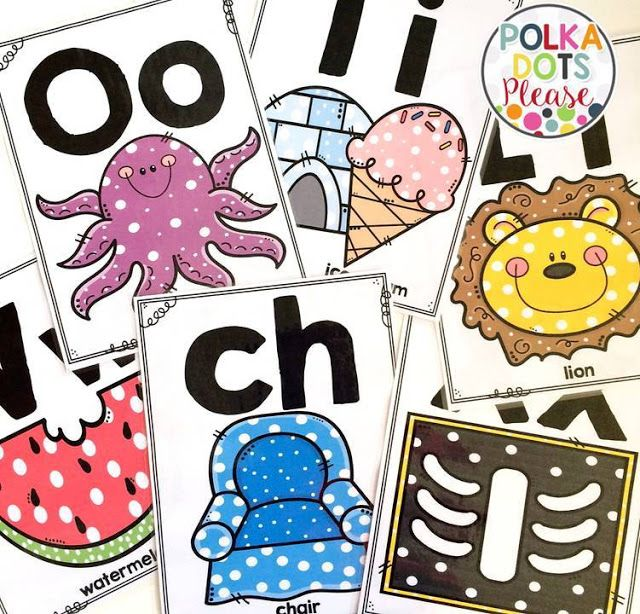 alphabet posters to dress up any classroom...with digraphs too!