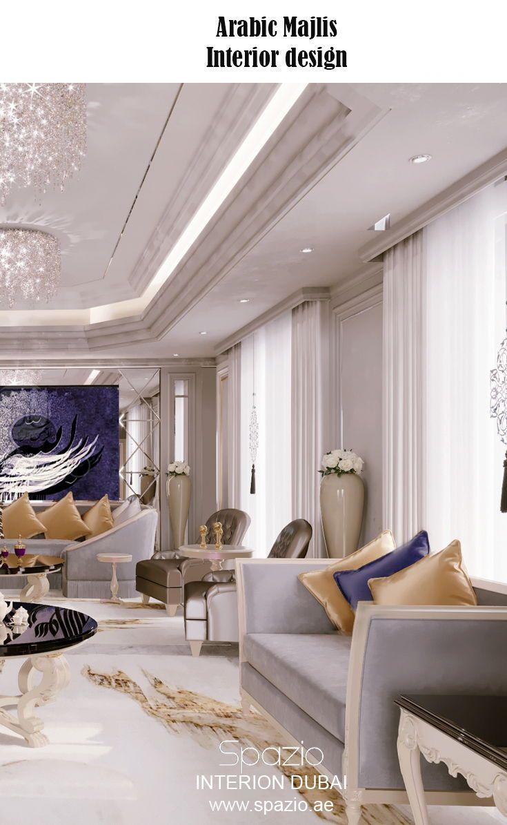 Arabic Majlis Interior Design In Dubai Uae 2020 Interior Design Dubai Interior Design Decor Interior Design