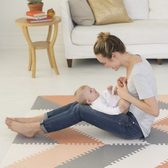 Stylish Foam Play Mats for Babies