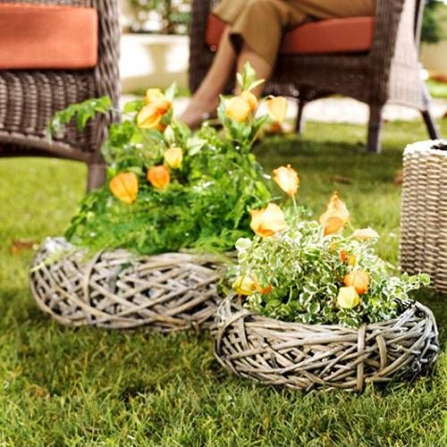 yard decorations, beautiful centerpieces for backyard designs