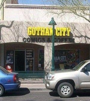 Gotham City Comics. Best Comic Book Shop. 46 W. Main St., Mesa, 85201 480-649-3065 https://www.facebook.com/gothamcitycomics