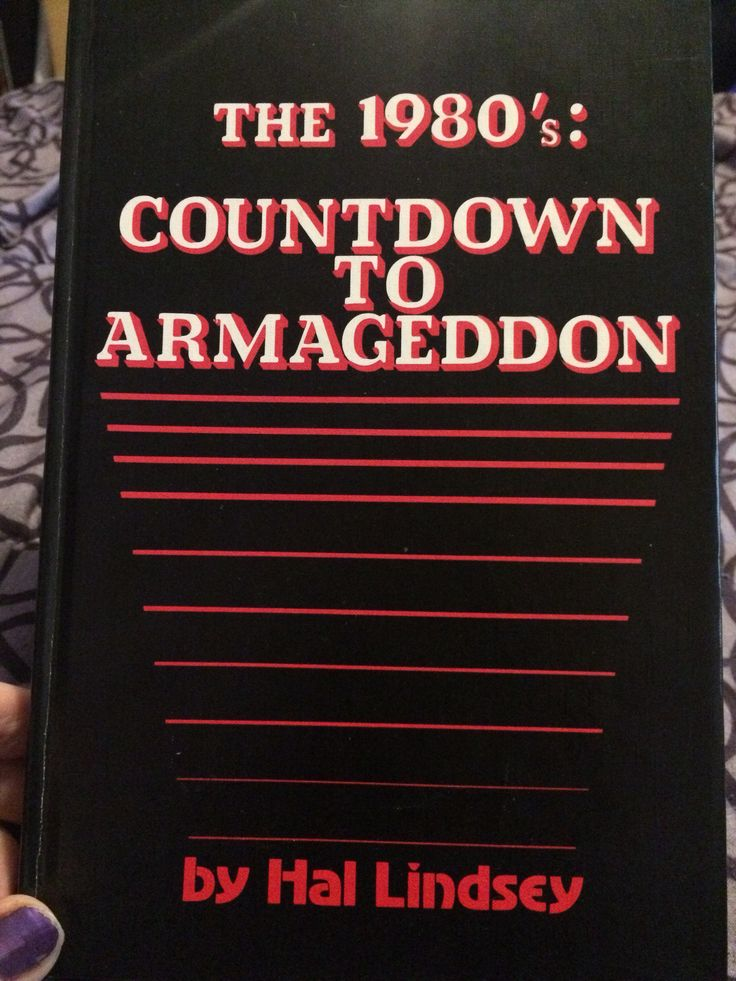 A personal favorite from my Etsy shop https://www.etsy.com/listing/562104787/the-1980s-countdown-to-atmageddon-book  #1980 #80s #armageddon #Apocalypse #world #bible #prophet #endofdays #history