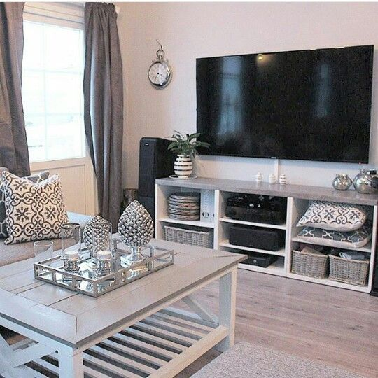 Decorating Ideas > Best 25+ Silver Living Room Ideas On Pinterest  Silver  ~ 215434_Living Room Decorating Ideas Wall Mount Tv