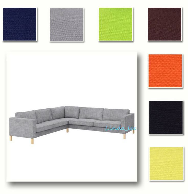 Customized Cover fits IKEA Karlstad Corner Sofa 2 3/3 2 (Cover only, Sofa not included). Make sure the cover you need is for IKEA Karlstad Corner Sofa 2 3/3 2 (including the Sofa cover, armrest covers and cushion covers). | eBay!