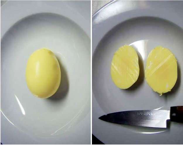 You can also make equally impressive golden eggs.
