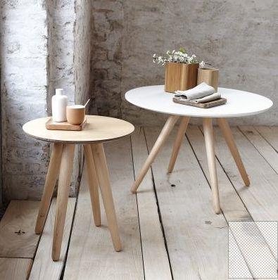 Tables d'appoint style scandinave   design, décoration, intérieur. Plus d'dées sur http://www.bocadolobo.com/en/inspiration-and-ideas/