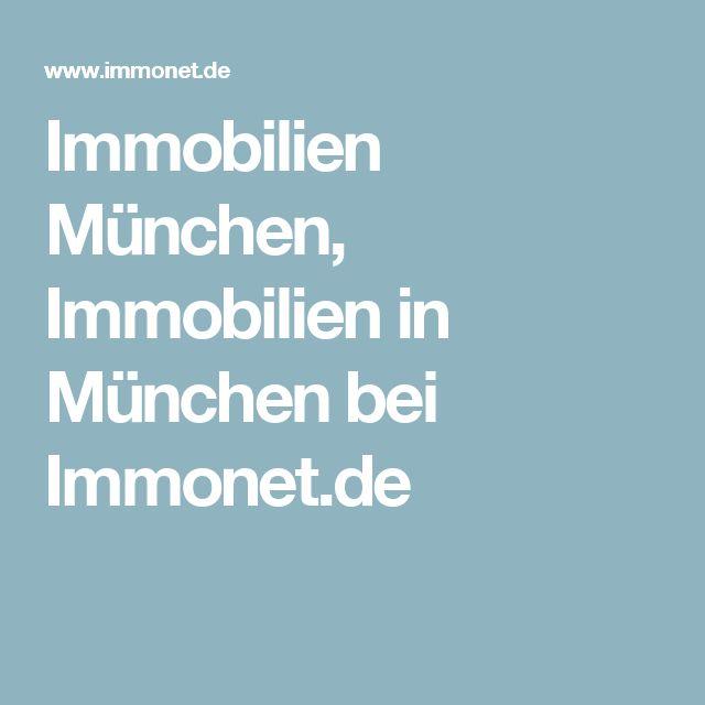 Immobilien München, Immobilien in München bei Immonet.de