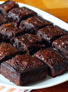 Bourbon... Bacon... Brownies.  Yes you read that right !  Amazing.