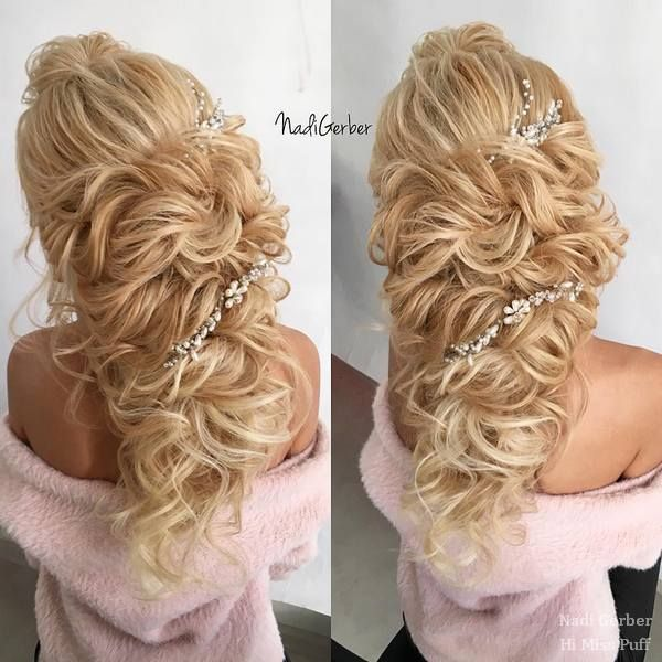 hair styles curly 2238 best images about wedding hairstyles on 5372