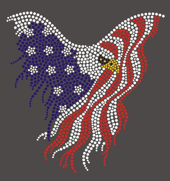 US Flag Eagle United States Eagle Flag by BlingnPrintStreet