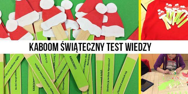 Specjalni czyli nowe technologie w szkołach specjalnych:  Test wiedzy o Świętach Bożego Narodzenia z kaboom...