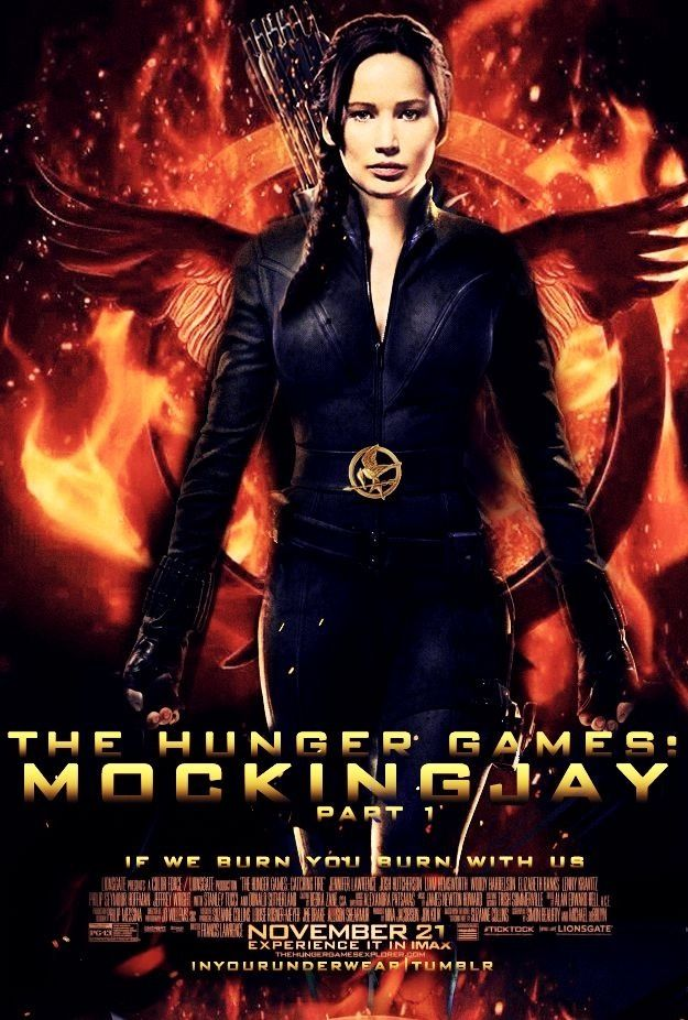 The hunger games mockingjay part 1 movie poster