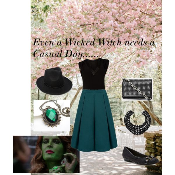 Even a Wicked Witch Needs a Casual Day.... by anaussiegirlslife on Polyvore featuring Forever New and ASOS