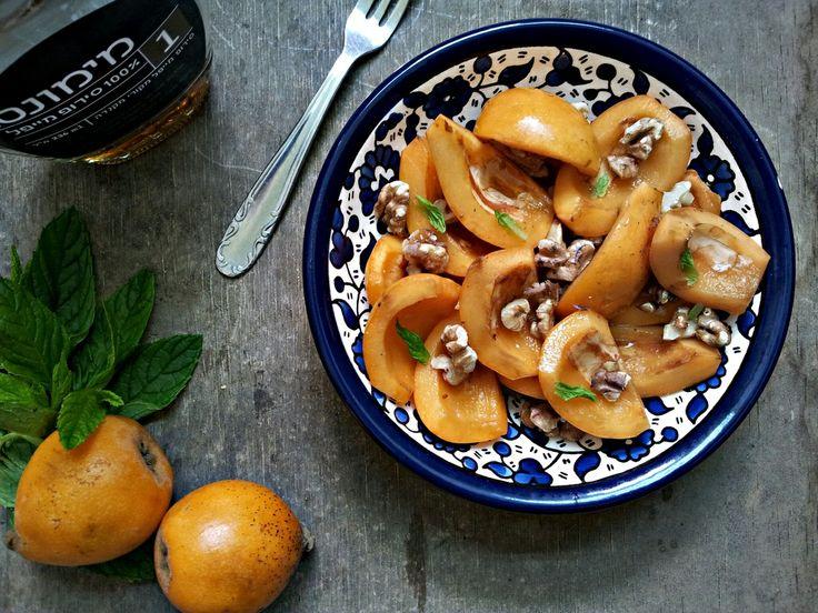 Lokváty s ořechy v sirupu (paleo)