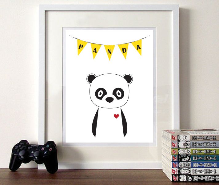 Nunu Prints - Panda