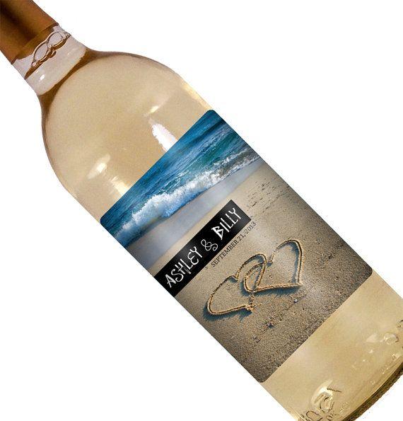 Wedding Wine Label  Custom Wine Label  Personalized by iCustomWine, $5.00