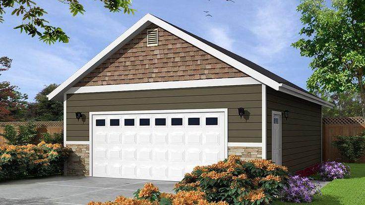 32 x 24 sq. ft. Garage Garage floor plans, Garage plans