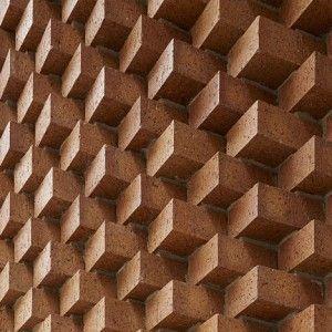 SO-IL adds decorative brick entrance to Tina Kim Gallery gallery in Manhattan