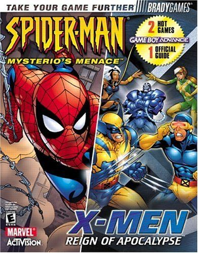 X-Men: Reign of Apocalypse / Spider-Man: Mysterios Menace Official Strategy Guide @ niftywarehouse.com #NiftyWarehouse #Spiderman #Marvel #ComicBooks #TheAvengers #Avengers #Comics