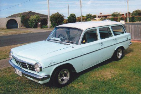 EH Holden Car Club of TAS, 1964 Green / White EH Station Wagon.