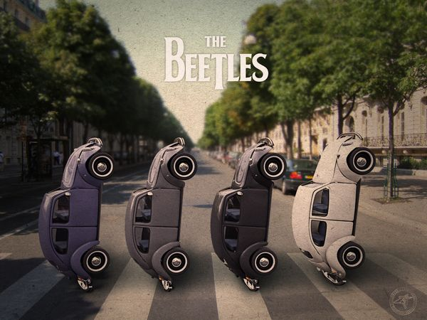 The Beetles on the Behance Network
