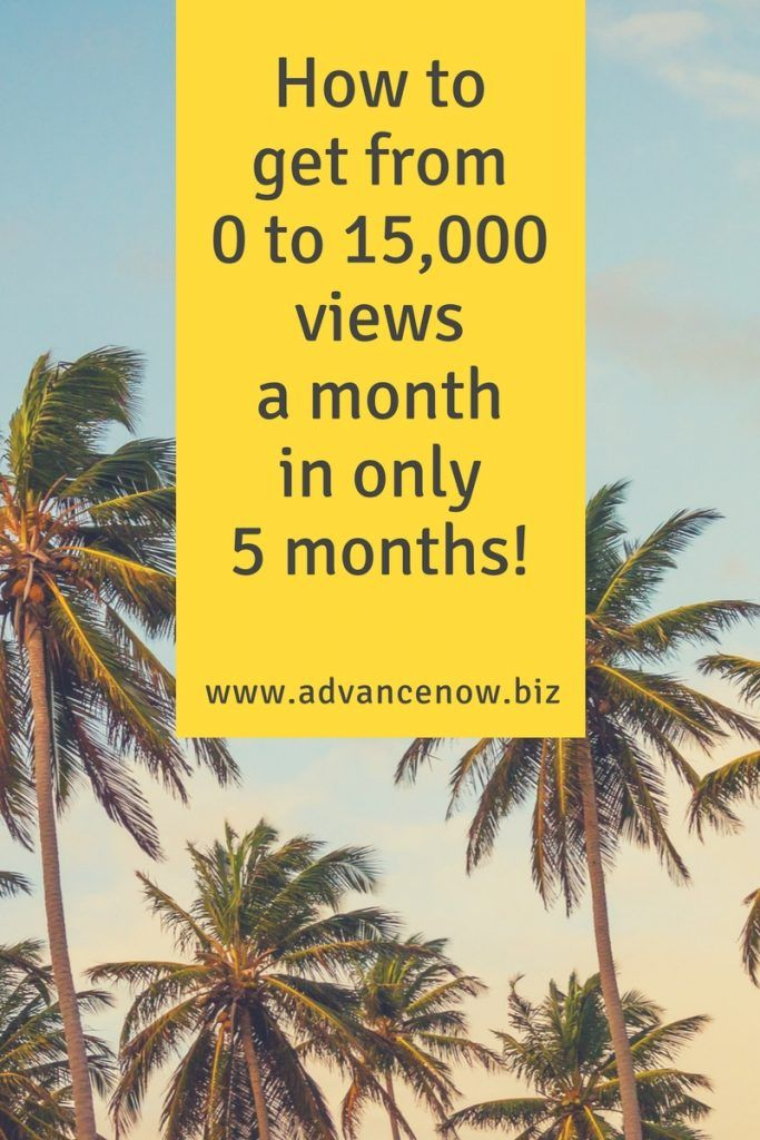 How to get from 0 to 15,000 views a month in 5 months #travel #blogging #casestudy #blog #socialmedia #marketing