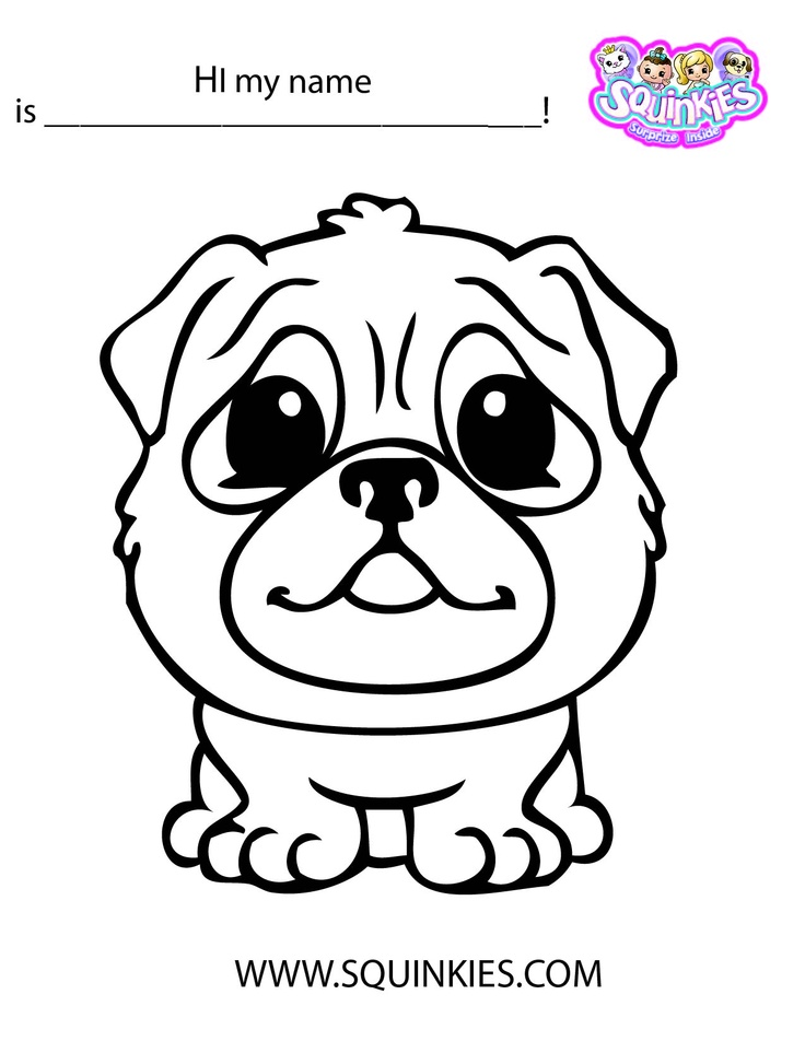 squinkies coloring pages online - photo#5