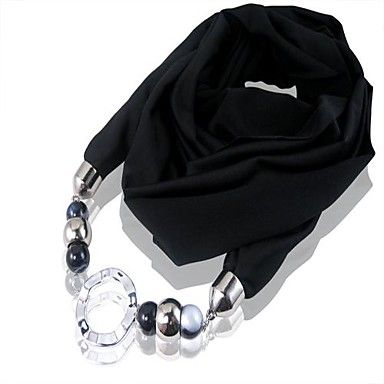 rainso® dammode halsduk halsband med CCB pärlor – SEK Kr. 112