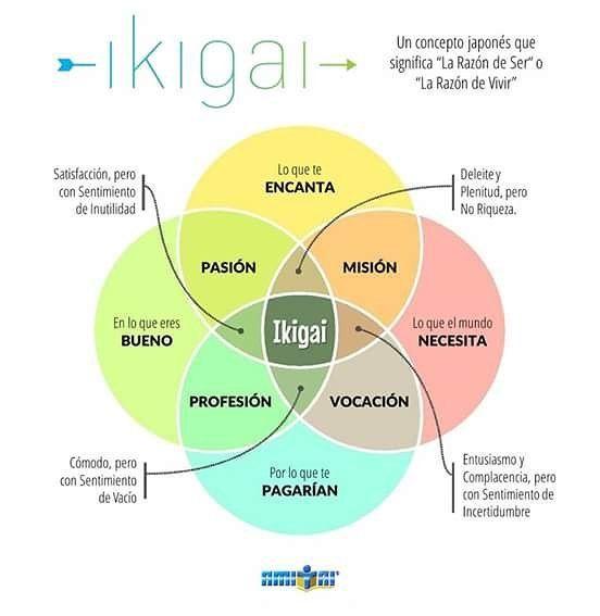 Que les parece el concepto Japonés IKIGAI?