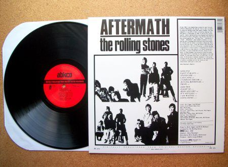 SINISTER VINYL COLLECTION: THE ROLLING STONES – AFTERMATH (1966) | Sinister Salad Musikal's Weblog