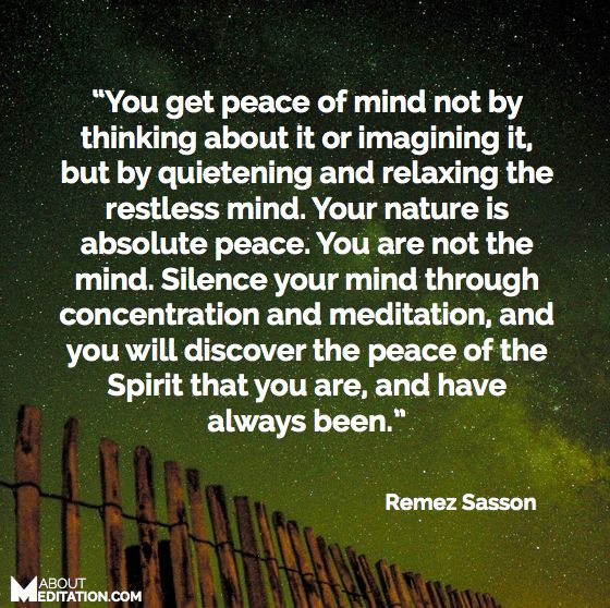 Peace Of Mind Quotes: 100+ Ideas To Try About Meditation Quotes
