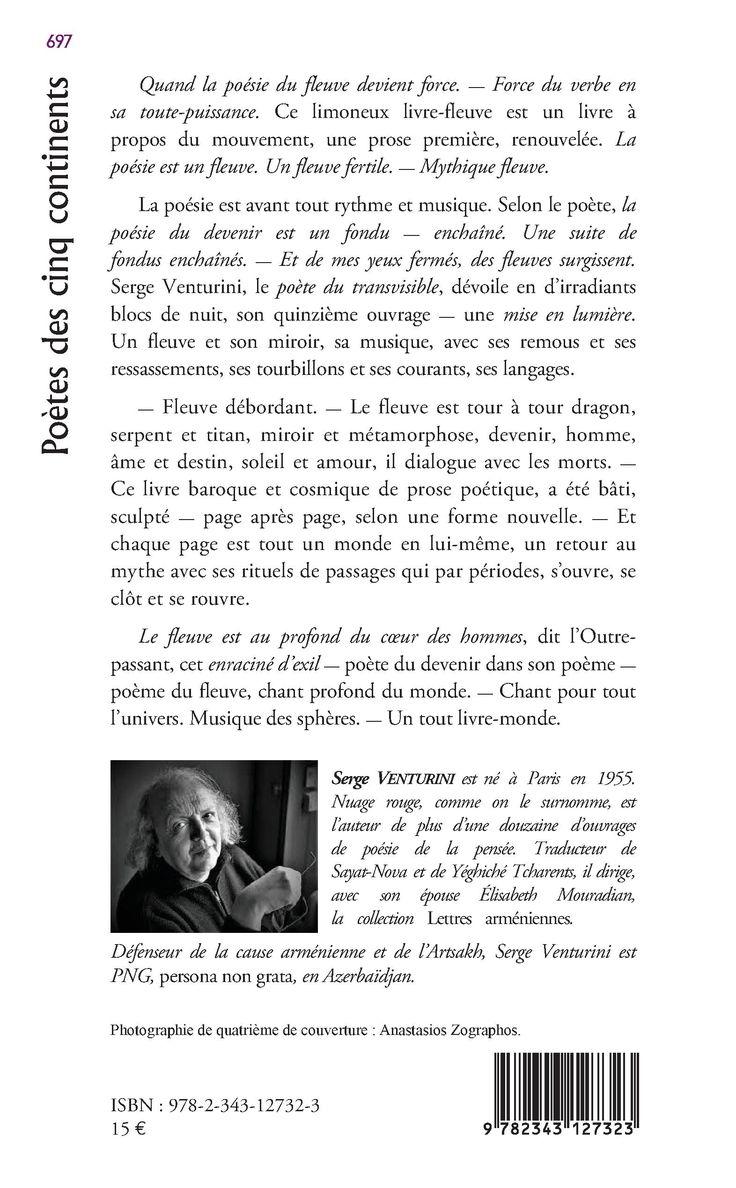 DU FLEUVE DÉBORDANT DU FLEUVE SANS RETOUR - (essai en poésie), Serge Venturini - livre, ebook, epub