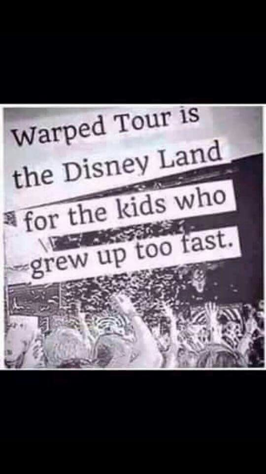 Warped tour is home <3