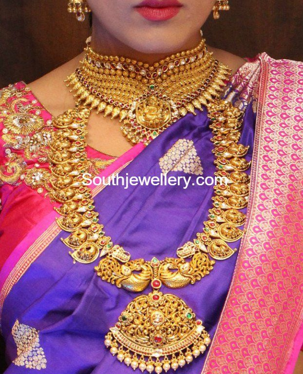 902 best Gold jewelery images on Pinterest Indian jewelry
