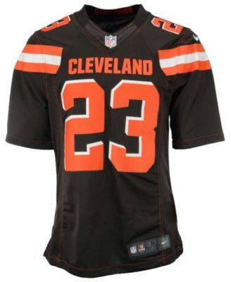 68d2e0d9e38 mens cleveland browns 23 joe haden nike brown color rush limited jersey