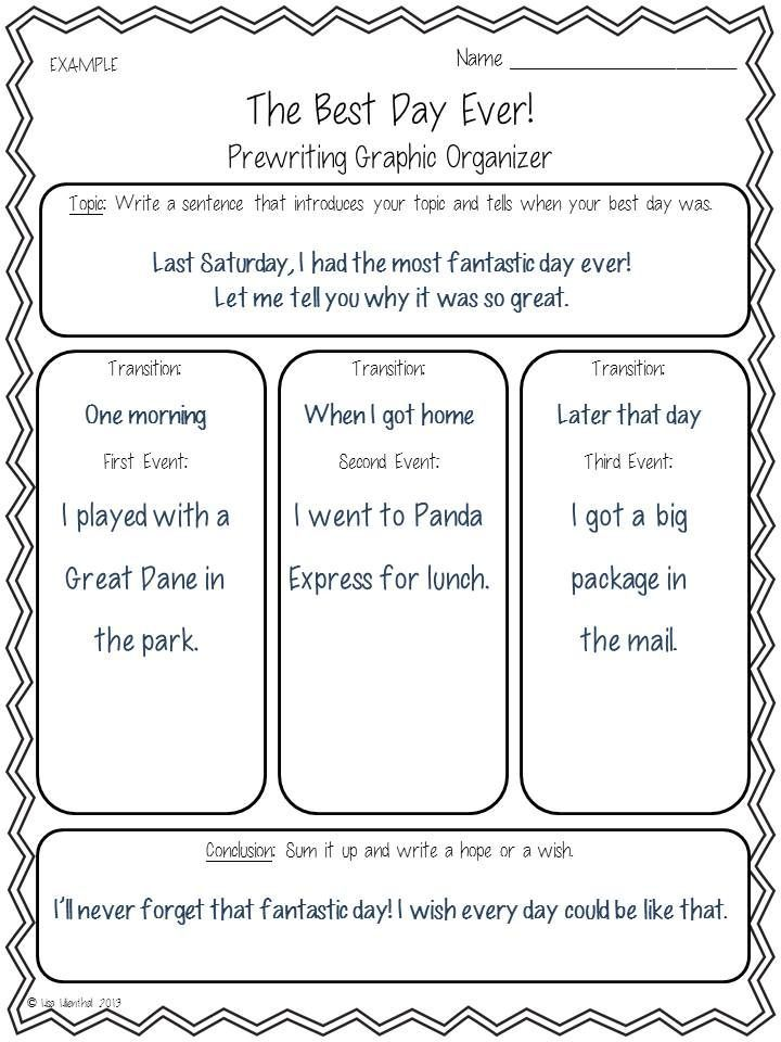 4th grade narrative essay prompts