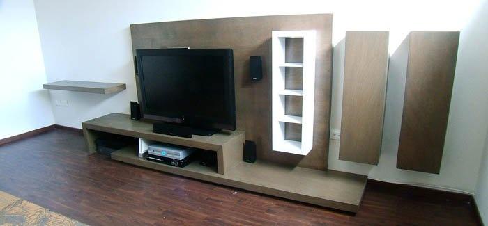 Mueble de television para sala de estar muebles for Muebles para sala de tv