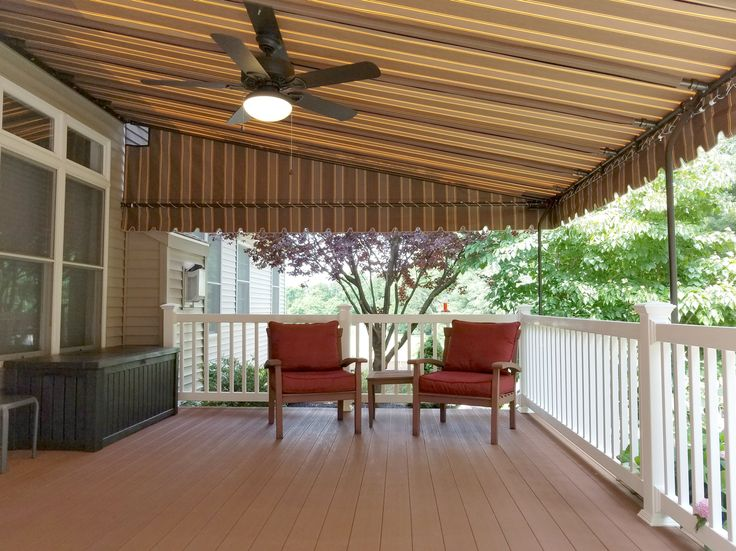 9 best ceiling fans in stationary canopies images on pinterest a hot unusable deck can be made into a cool dry and cozy outdoor living room a ceiling fan will keep you cool and repel pesky bugs aloadofball Image collections