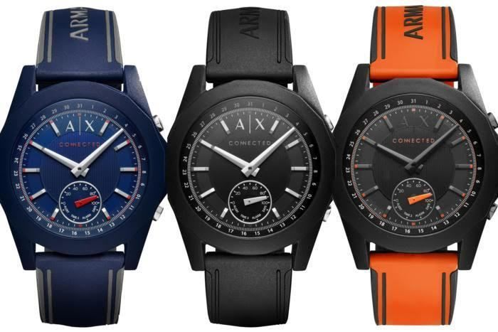 Armani Exchange Hybrid Smartwatch, AX Connected, Comes In Four Colors, Costs $175